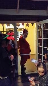 A truly naughty Santa!