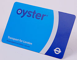 TFL Oyster Card