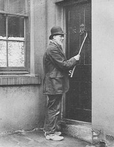 A Victorian Knocker-Upper